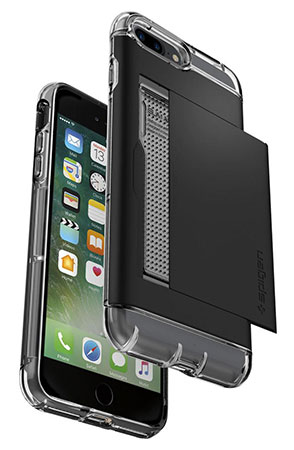 قاب محافظ اسپیگن آیفون Spigen Crystal Wallet Case Apple iPhone 7 Plus