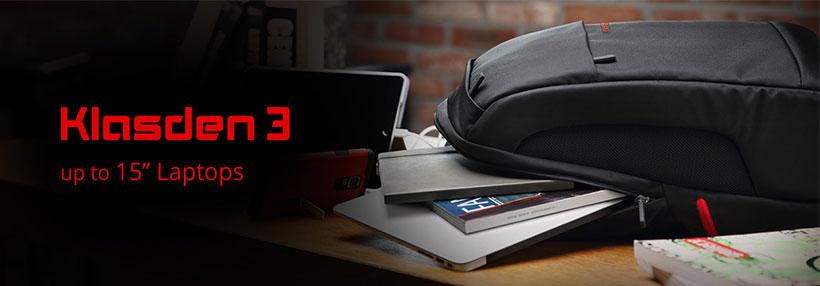 کوله لپ تاپ 15.0 اینچ اسپیگن مدل klasden3