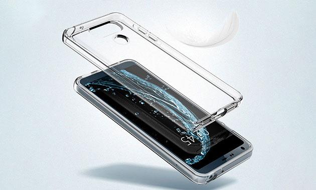 وزن سبک محافظ ژله ای اسپیگن ال جی Spigen LG G6