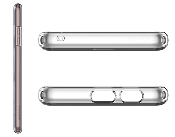 محافظ ژله ای اسپیگن سامسونگ Spigen Liquid Crystal Case Samsung Galaxy A8 Plus 2018