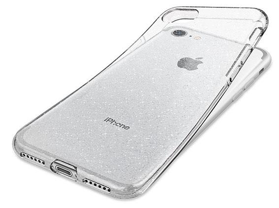 محافظ ژله ای اسپیگن آیفون Spigen Liquid Crystal Glitter Case Apple iPhone 7