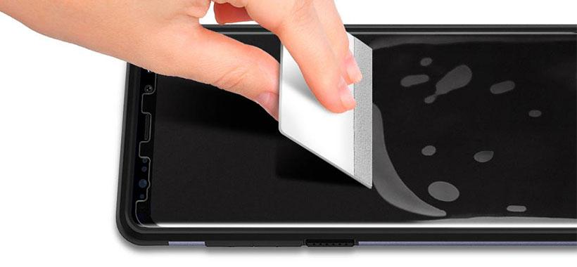 محافظ صفحه شفاف و منعطف اسپیگن برای سامسونگ گلکسی نوت 8