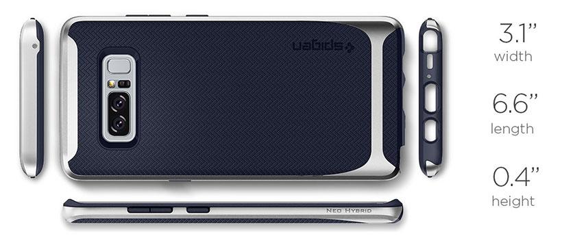 قاب محافظ اسپیگن سامسونگ Spigen Neo Hybrid Case Samsung Galaxy Note 8