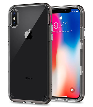 قاب محافظ اسپیگن آیفون Spigen Neo Hybrid Crystal Case Apple iPhone X