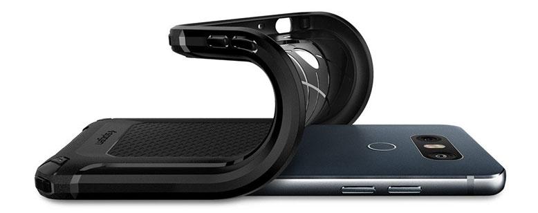محافظ ژله ای اسپیگن ال جی Spigen LG G6 منعطف