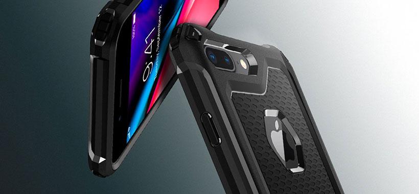 محافظ ژله ای اسپیگن iPhone 8 Plus