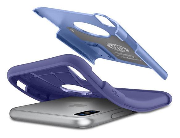 قاب محافظ اسپیگن آیفون Spigen Slim Armor Apple iPhone X