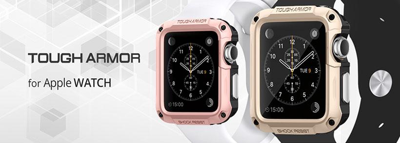 قاب محافظ اسپیگن اپل واچ Spigen Tough Armor Case Apple Watch 42mm Series 2