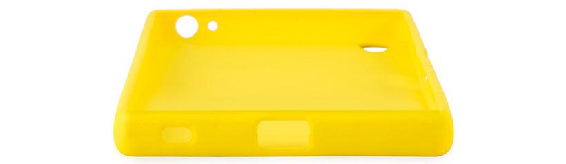 محافظ ژله ای سیلیکونی سونی اکسپریا Z5 Premium بدون محدودیت در دسترسی به پورت ها