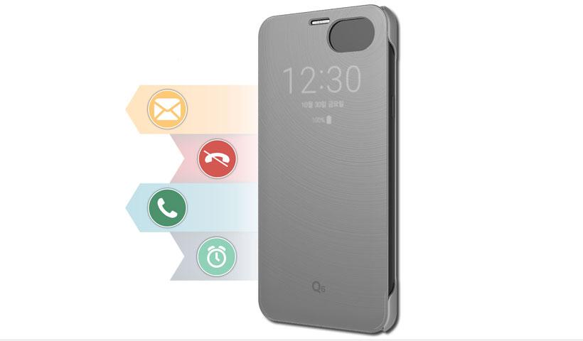 کاور هوشمند گوشی LG Q6