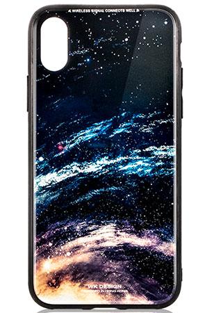قاب محافظ طرح اجرام آسمانی آیفون WK Design Space Case Apple iPhone X