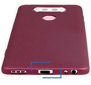 محافظ ژله ای ال جی X-Level Guardian LG V20
