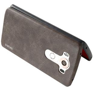 محافظ چرمی گوشی ال جی وی 10 مدل x-level
