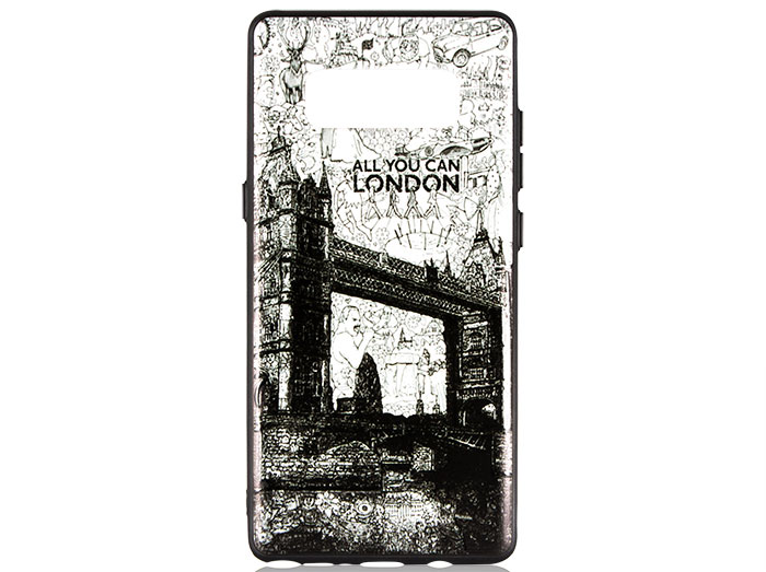قاب محافظ سامسونگ گلکسی XO+ London Tower Bridge Case Samsung Galaxy Note 8