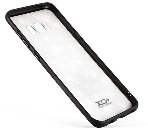 قاب محافظ سامسونگ طرح گل XO+ Flower Case Samsung Galaxy S8 Plus