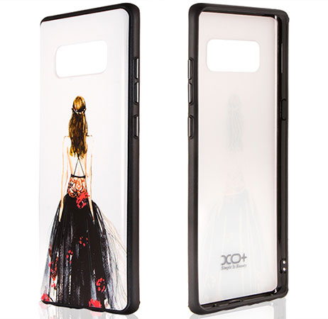 قاب محافظ سامسونگ گلکسی XO+ Girl Case Samsung Galaxy Note 8 طرح دختر