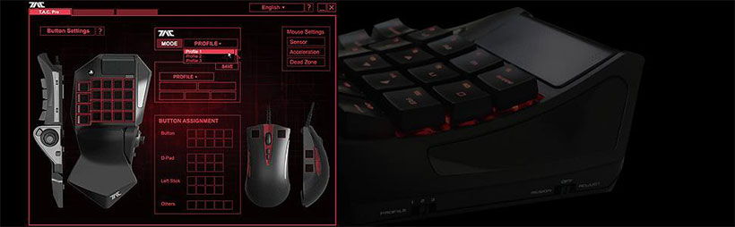 ست موس و کیبورد گیمینگ پلی استیشن Hori Keypad And Mouse Controller PlayStation 4
