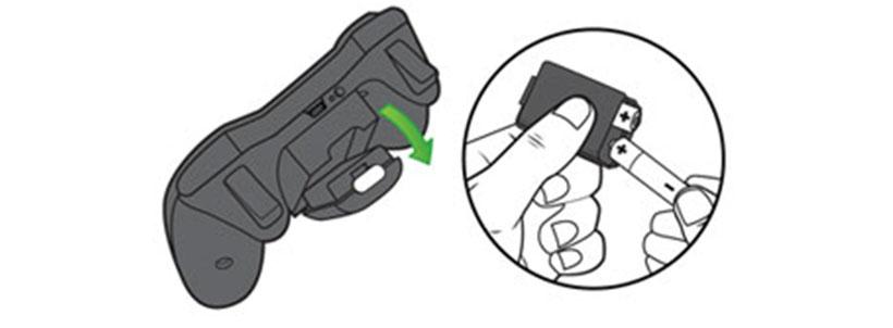 باتری نیم قلمی برای دسته بازی ایکس باکس 360