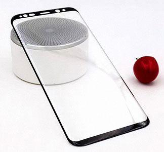 محافظ صفحه نمایش شیشه ای سامسونگ 4D Glass Screen Protector Samsung Galaxy S8