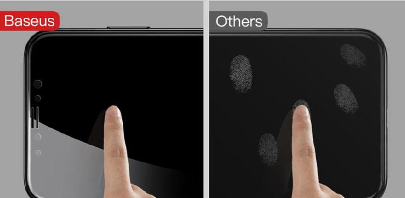محافظ صفحه شیشهای پشت و رو آیفون X