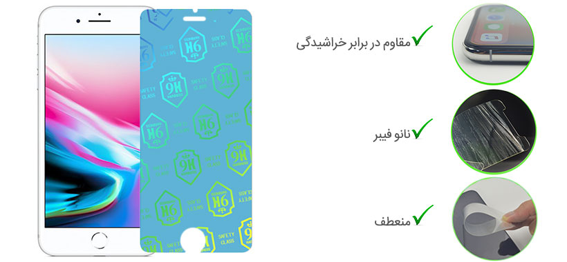 گلس نانو iPhone 6 Plus