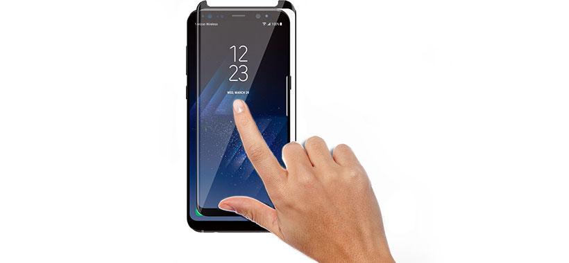محافظ صفحه نمایش شیشه ای بست سوییت سامسونگ گلکسی اس 8 پلاس