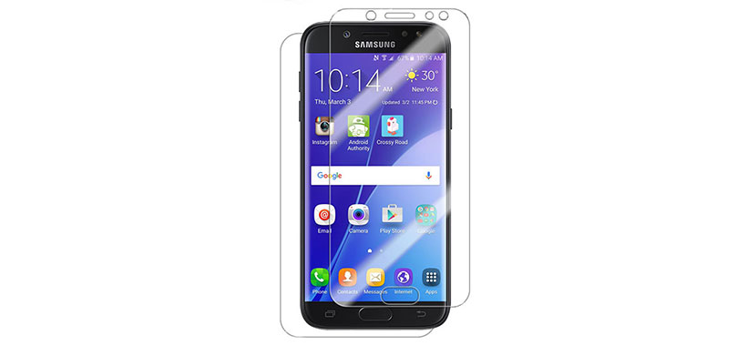 محافظ صفحه نمایش پشت و رو سامسونگ Galaxy J7 Pro