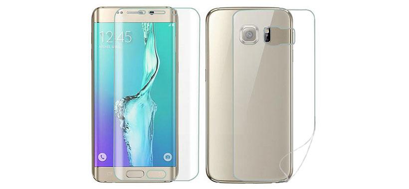 محافظ صفحه نمایش پشت و رو سامسونگ Galaxy S6 Edge