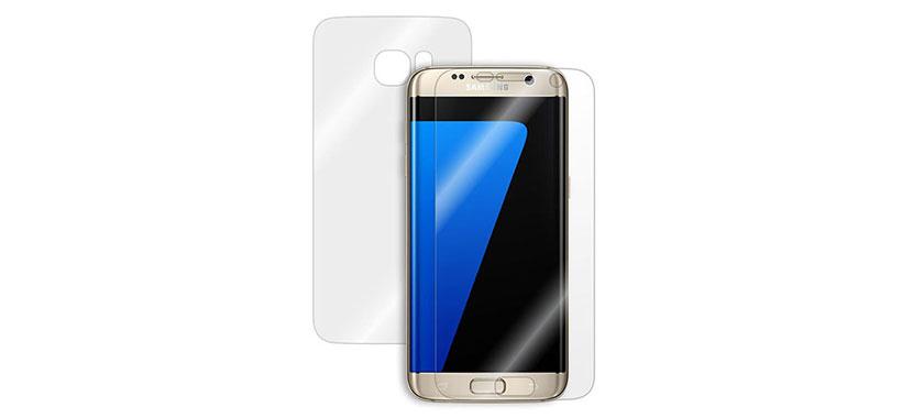 محافظ صفحه نمایش پشت و رو سامسونگ Galaxy S7 Edge