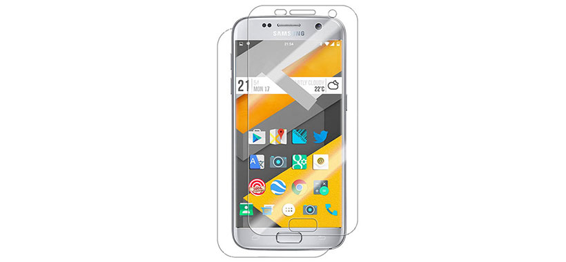 محافظ صفحه نمایش پشت و رو سامسونگ Galaxy S7