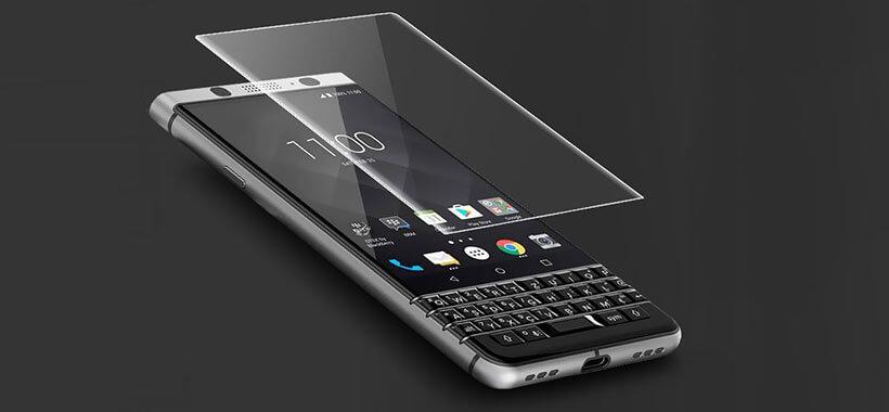 محافظ صفحه نمایش بلک بری تمام صفحه HD Full Film Blackberry KEYone DTEK70/Mercury