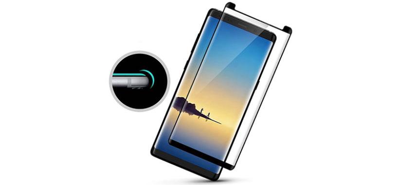 محافظ صفحه نمایش شیشه ای سامسونگ Galaxy Note 8