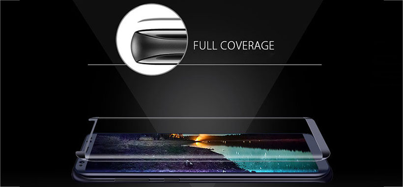 محافظ صفحه نمایش شیشه ای سامسونگ Galaxy S8