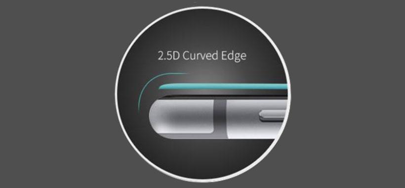 لبه های منحنی 2.5D گلس JCPAL