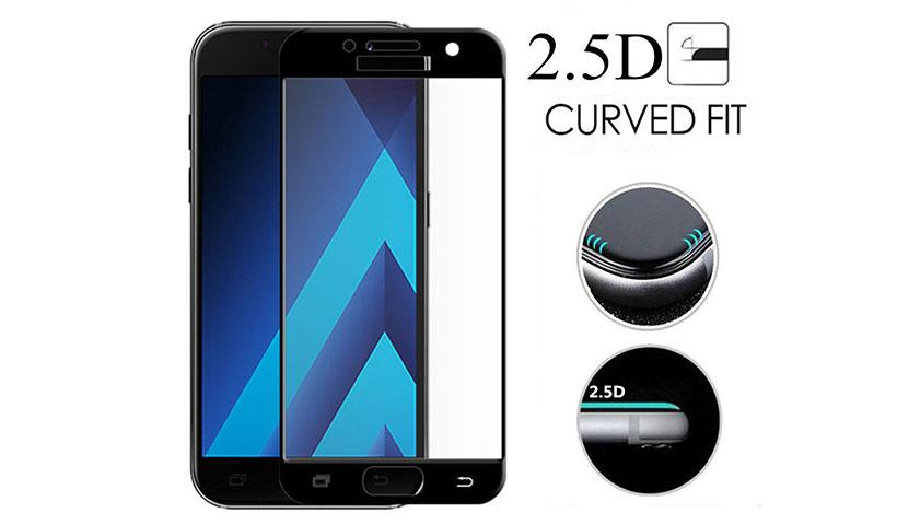 محافظ صفحه نمایش های تمام صفحه نمایشگر گوشی A5 2017