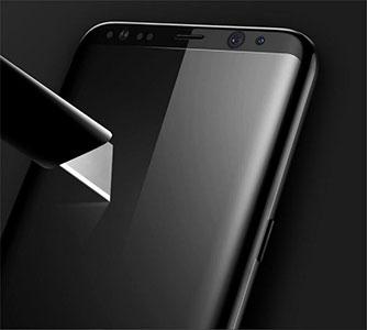 محافظ صفحه نمایش شیشه ای Mocoll Samsung Galaxy S8 3D Glass
