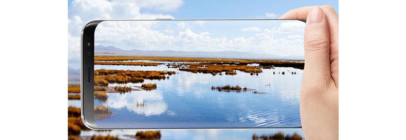 محافظ صفحه شیشه ای گلکسی اس 8 با کیفیت بالا