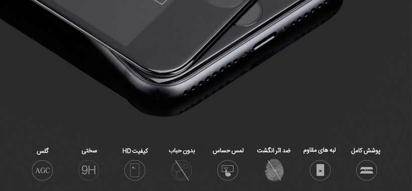 Full Glass Screen Protector Apple iphone 8 Plus/7 Plus