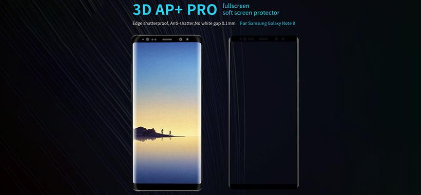 محافظ صفحه شیشه ای سامسونگ Galaxy Note 8
