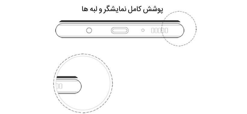محافظ صفحه نمایش شیشهای ضد ضربه نیلکین گلکسی S8 plus