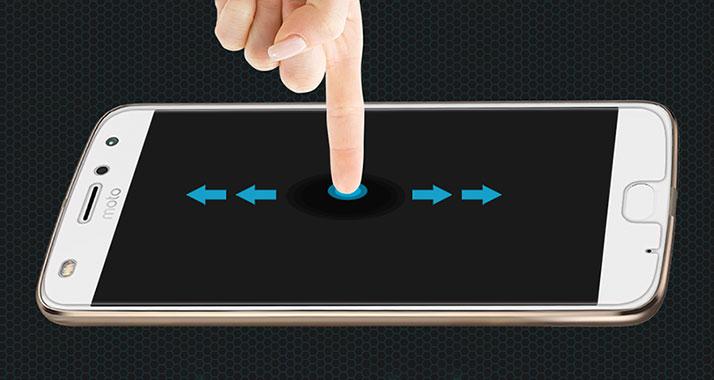 محافظ صفحه نمایش شیشه ای نیلکین موتورولا با لمس آسان