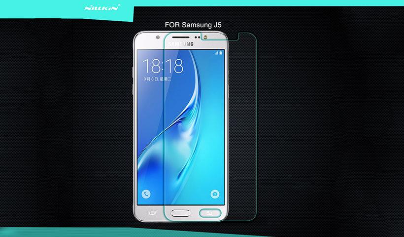 محافظ صفحه نمایش شیشه ای نیلکین سامسونگ جی 5