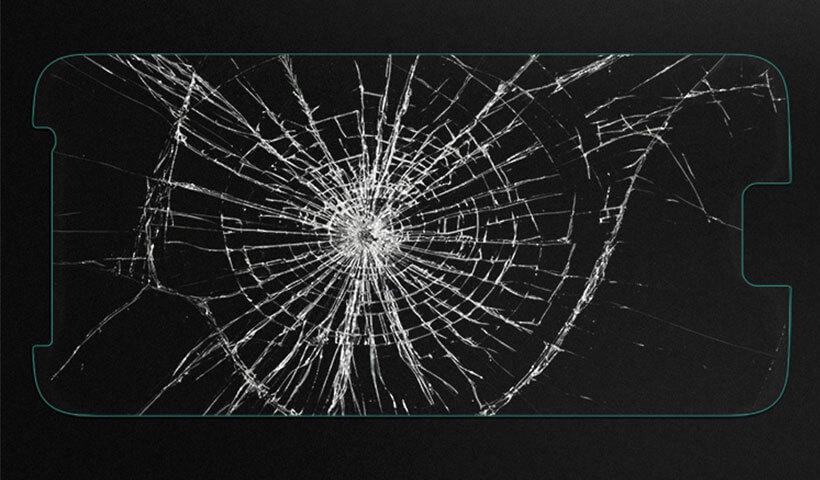 محافظ صفحه نمایش شیشه ای نیلکین H سامسونگ S6