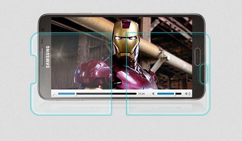 محافظ صفحه نمایش شیشه ای نیلکین H سامسونگ Note 3 Neo