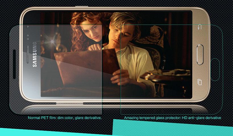 محافظ صفحه نمایش شیشه ای نیلکین سامسونگ J3