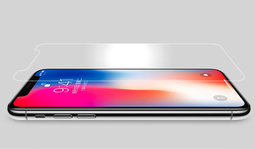 محافظ صفحه نمایش شیشهای نیلکین H+ Pro آیفون ایکس