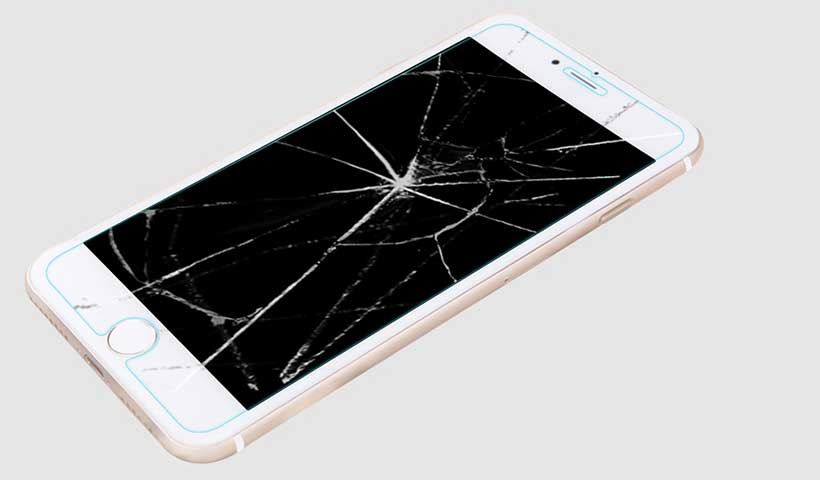 گلس محافظ نیلکین iphone 7 plus