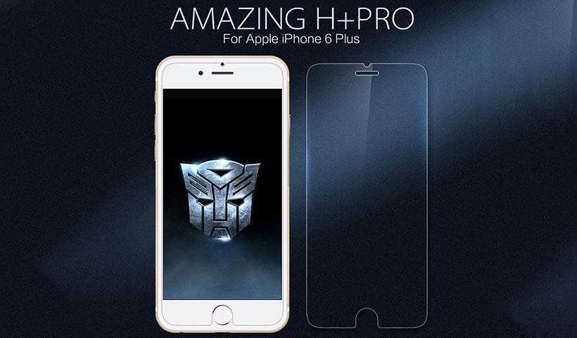 محافظ صفحه شیشه ای نیلکین iPhone 6 Plus