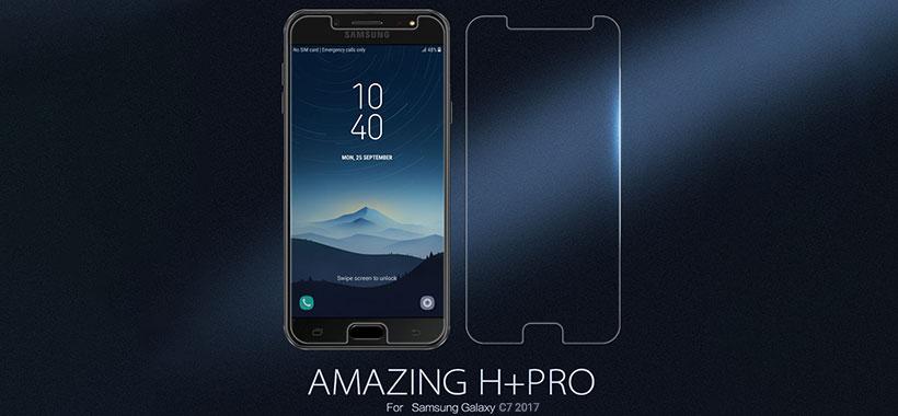 محافظ صفحه شیشه ای سامسونگ Galaxy C7 2017