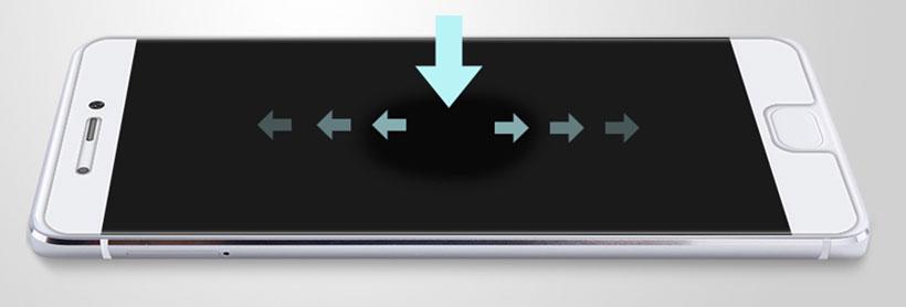 گلس H+ Pro نیلکین با لمس راحت و حفظ حساسیت تاچ نمایشگر